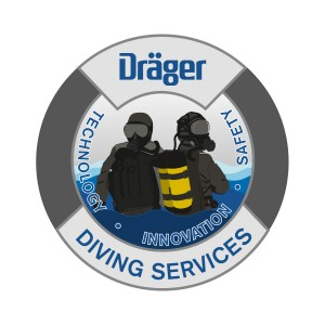 Aufkleber ''Diving Services''